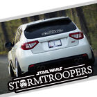 Star Wars Stormtroopers Car Auto Vinyl Decal Sticker Reflective Windshield $8.5 USD on eBay