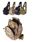 Outdoor Army Military Tactical Sling Pack Molle Single Shoulder Backpack Rucksac