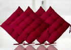 SEAT PAD DINING ROOM GARDEN KITCHEN CHAIR CUSHION WITH TIE ON