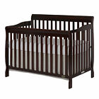Convertible New 5-in-1 Crib Wood Home Nursery Bedroom Furniture Multiple Colors