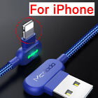 LONG Lightning USB Cable Fast Charger For iPhone X Type C Android 1.8M 6ft