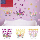 Unicorn Wall Sticker Kid's Room Decor Sticker Removable Decal Home Decoration Us