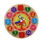 Digital Clock Cognition Time Education Toys  Kids Teaching Puzzle Card Games BL3