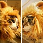 Lion Mane Wig Hat With Ears Cosplay Halloween Pet Cat Costume Brown BL3