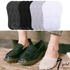 3-12 Pks Mens Cotton Invisible No Show Socks Non Slip Low Cut Loafer Casual Boat
