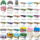 PARTY TABLE COVERS & TABLECLOTHS - CHOOSE YOUR DESIGN