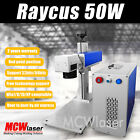 50W Raycus Fiber Laser Marking Machine & Rotary Engraving Steel Metal CE/FDA