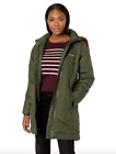 Columbia Womens XS Mid Length Jacket  Warm Winter Coat Snow Eclipse Nori
