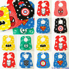 Infant Superhero Newborn Baby Boy Girl Kids Bibs Saliva Burp Apron Dribble Scarf