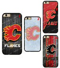 Calgary Flames Hard Phone Case Cover For iPhone/ Touch / Samsung / LG $7.41 USD on eBay