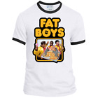 Fat Boys, Retro, Rap, HipHop, Old School, Obese, Overweight, T-shirt