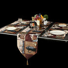Placemat with Compatible 4PCS Table Runner Washable Table Mats Set Decoration