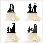 Внешний вид - Family Wedding Cake Topper with Girls Boys Children Anniversary Party Decortions