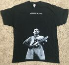 The Texas Chainsaw Massacre Custom Leatherface T-Shirt August 18 1973 All Sizes image