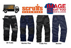 Scruffs Hard Wearing Multi-Pocket Work Trousers Various Styles, Colour and Sizes