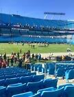 CAROLINA PANTHERS VS TENNESSEE TITANS -SEC 114 ROW 11 VISITORS SIDELINE $700