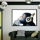 Внешний вид - Picture Deep Unframed Canvas Prints In Thought Poster Wall Art Painting New BL3