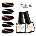 RBAN NAIL 7ml 3D Magnetic Cat Eye Glitter Gel Nail Polish Soak Off Gel Varnish
