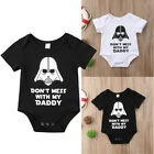 US Stock Newborn Star Wars Baby Boy Girl Bodysuit Romper Jumpsuit Clothes Outfit $5.84 USD on eBay
