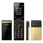 "Unlocked Flip M2+Touch Big Screen 3.0"" Display Dual Sim Metal Body Cell Phone 3G"