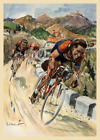 1953 Tour de France Bicycle Poster Print by Ordner - Cycling - Bike