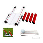 Outdoor Eyeline Golf Speed Trap Base 4Red Rods Swing Hitting Shots Training Tool