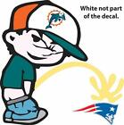 Choose Size MIAMI DOLPHINS PISS ON NEW ENGLAND PATRIOTS VINYL DECAL calvin peein on eBay