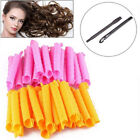 40Pcs Magic Hair Curlers Long Spiral Rollers Easy Fast DIY Ringlets Tool 50/55cm