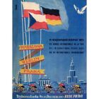 Advert Exhibition Propaganda Cycle Peace Race East Germany 12X16 Framed Print