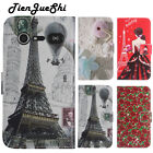 Flip Design Leather Cover TPU Silicone Shell Wallet Etui Skin Case For Doro EE
