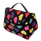 Travel Cosmetic Bag Case Heart Print Organizer Makeup Beauty Brush OO55 02