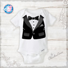 Baby Boy Tuxedo - Tux Funny Onesie Newborn Gifts Infant Hospital Outfit Wedding