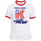 Retro, Chrysler, Plymouth, K-CAR, Reliant K, Aries K, 1980's, Patriotic, T-shirt