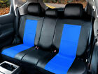 PU Leather Non-Slip Rear Car Seat Cushion Covers for Dodge 255R Bk/Blue $39.95 USD on eBay