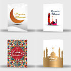 Single Or Pack Of 4 Ramadan Mubarak Kareem Celebration Greeting Card Gift D4