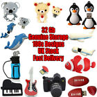 Novelty 32 Gb USB Flash Drives Cute Animal Shaped Memory Sticks Cool Gifts
