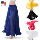 Belly Dancing Skirt Voile 720 Degree Chiffon Belly Dance Expansion Gypsy Skirts