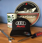Custom Embroidered Audi Style Flex-Fit Hat Choose Size and Logo Colors