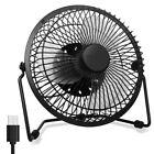 Desktop USB Fan, Enhanced Airflow, Low Noise, Metal Design, Personal Mini Blower