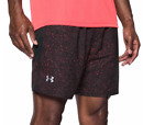 Under Armour Men's Launch Printed 7'' Shorts, Marathon Red/Reflective *NWT*