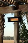 New Sun Tastic Steel Wall Mounted Infrared Patio Heater Silver Indoor/Outdoor