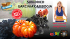 DRIED GARCINIA CAMBOGIA Pure Organic High Quality Natural Brindleberry Free ship