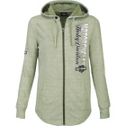 HARLEY-DAVIDSON® WOMEN'S SAGE H-D GLITZ HOODED ZIP-UP DEALER JACKET - R002783 $29.9 USD on eBay