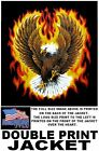 UNITED STATES VETERAN AMERICAN PRIDE EAGLE FLAMES PATRIOTIC USA JACKET WS100