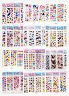 Kids Children Stickers Lot Scrapbooking  Paper Craft Party Teacher Reward Gift