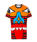 NEW MENS TOTEM SUB PRINT TEE HD PRINT T-SHIRT UNISEX POLY UK REGULAR FIT& SIZE