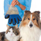 DRIBET Pet Grooming Glove Deshedding Brush Fur Remover Mitt for Dog Cat Single