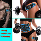 6 Six-Pack Electric Muscle Toner EMS Machine Wireless Toning Belt Abs Fat Burner image