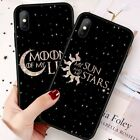 Sun Moon Pattern Matte Phone Case Shockproof For iPhone X Samsung S9 Huawei SW
