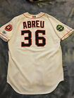 CHOICE OF HOUSTON ASTROS MILB AUTOGRAPH GAME USED JERSEY on Ebay